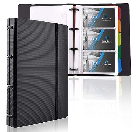 Amazon.com: Sujetador de tarjetas profesional y de negocios ...