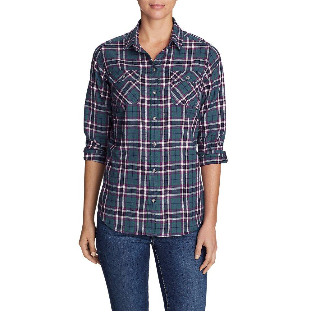Eddie Bauer Women's Stine's Favorite Flannel Shirt - Plaid 43832
