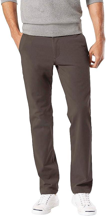 Dockers Men's Straight Fit Downtime Khaki Smart 360 Flex Everday Pants