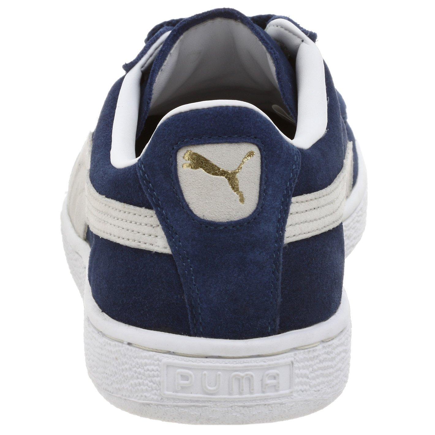 PUMA Suede Classic Sneaker,Blue/White,8 M US Men's by PUMA (Image #2)