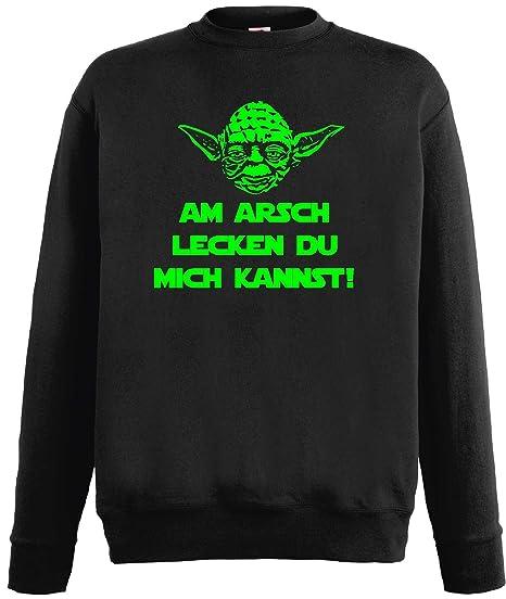 World Of Shirt Star Wars Master Yoda Herren Sweatshirt Spruch Am