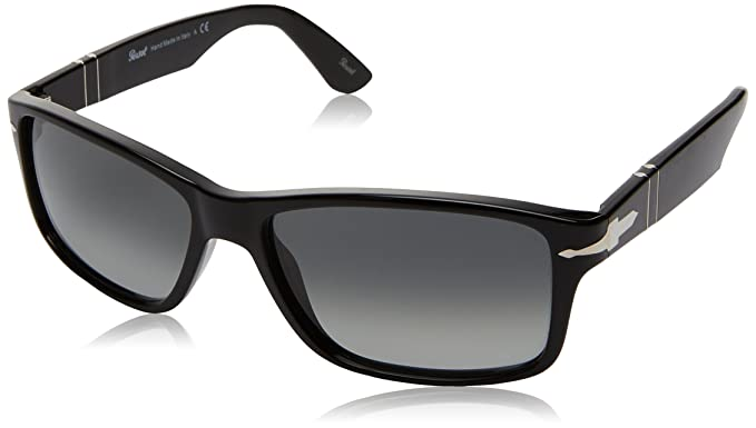 5dbc26b64d Amazon.com  Persol Men s PO3154S Sunglasses Black Grey Gradient Dark ...