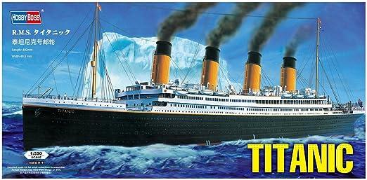 Amazoncom Hobby Boss RMS Titanic Boat Model Building Kit Toys - Cruise ship building games