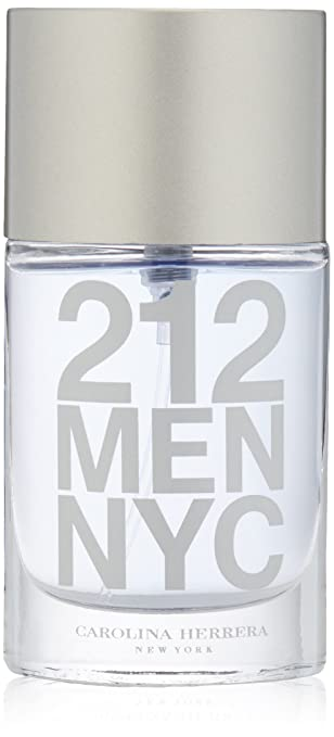 Amazon.com : Carolina Herrera 212 Eau de Toilette Spray for Men, 1.0 Ounce : Beauty