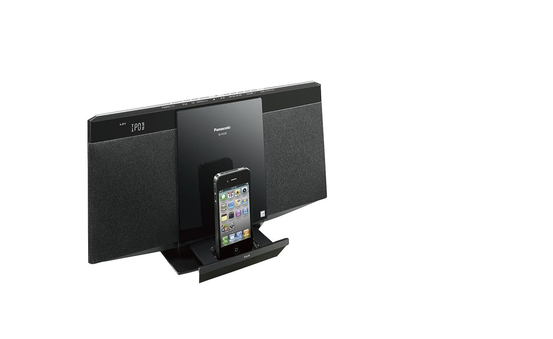 Panasonic SC-HC25 2.0channels 10W Negro acoplamiento altavoz - Altavoces (2.0 canales, 10 W, 6 Ω, 3,5 mm, iPhone,iPod, LCD): Amazon.es: Electrónica