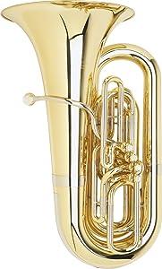 Miraphone 1291 Series 4/4 BBb Tuba 1291-4V 4 Valve Lacquer