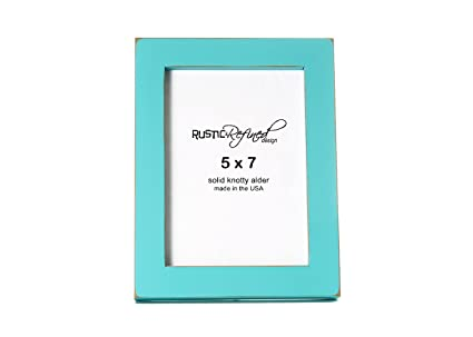 5x7 solid wood made in usa picture frame with 1 inch border gallery collection