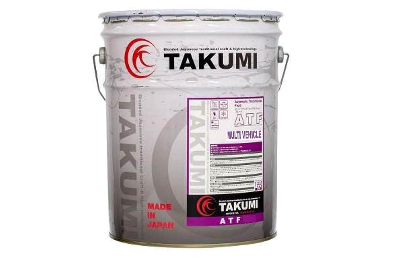 TAKUMIモーターオイル ATF MULTI VEHICLE 高性能ATオイル DEXIII/JASO 1A クリア 20L 【送料無料】 B01CTV8K9U   20L