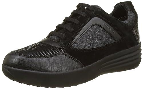 Face 6 (New), Sneaker Donna, Nero (Nero/Black), 36 EU Stonefly