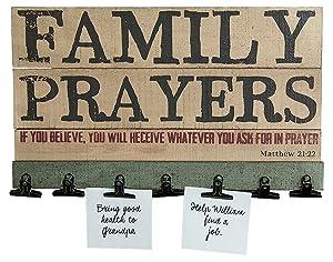 Family Prayer Board - 16-in
