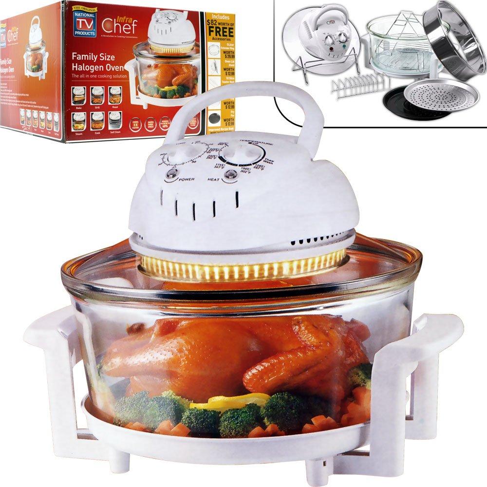 Amazon.com: Infra Chef Family Size Halogen Oven Plus Extras ...