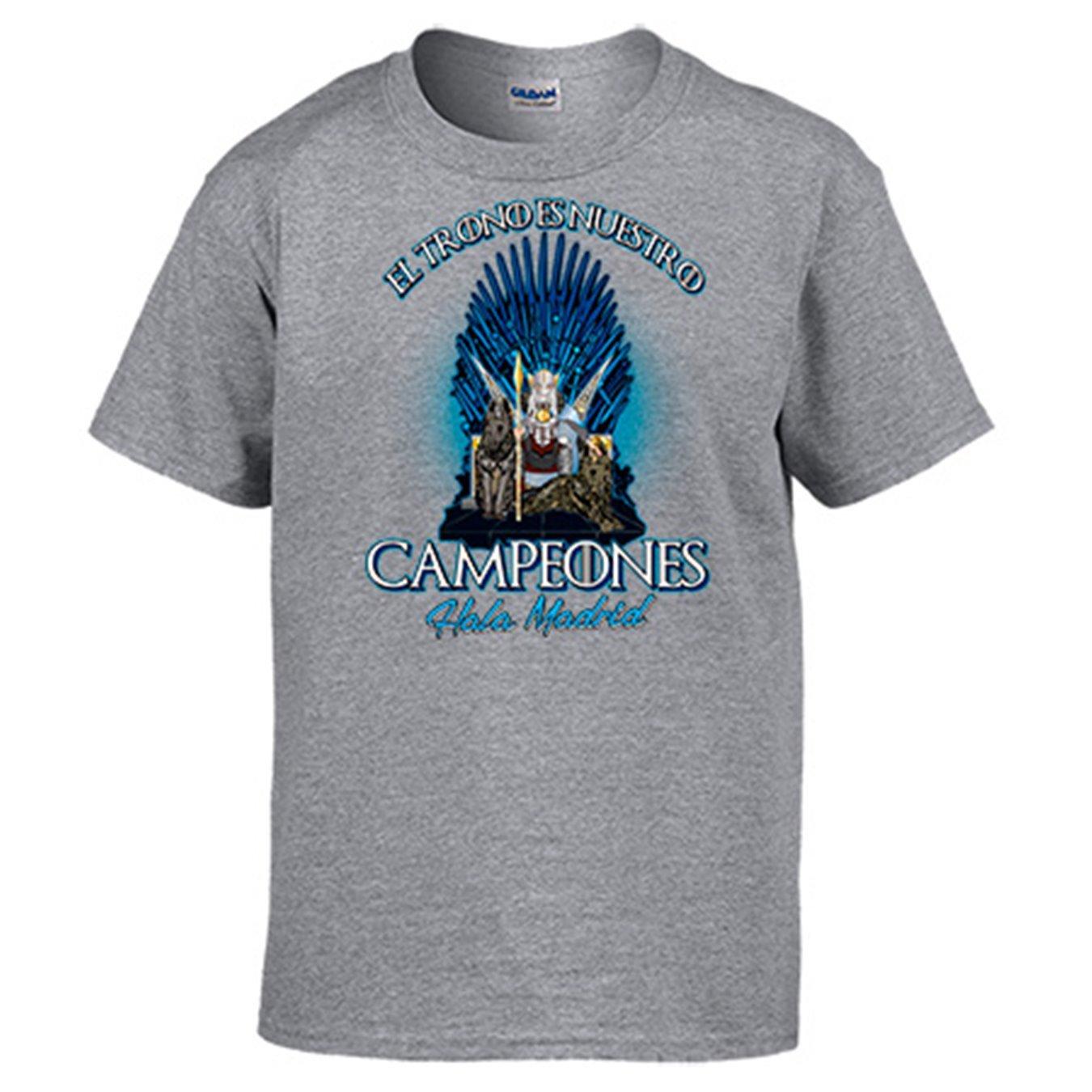 Diver Camisetas Camiseta Madrid fútbol Juego de Tronos el Trono es ...