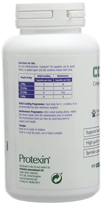 Cosequin DS for Dogs 120 Sprinkle Capsules by Cosequin: Amazon.es: Salud y cuidado personal