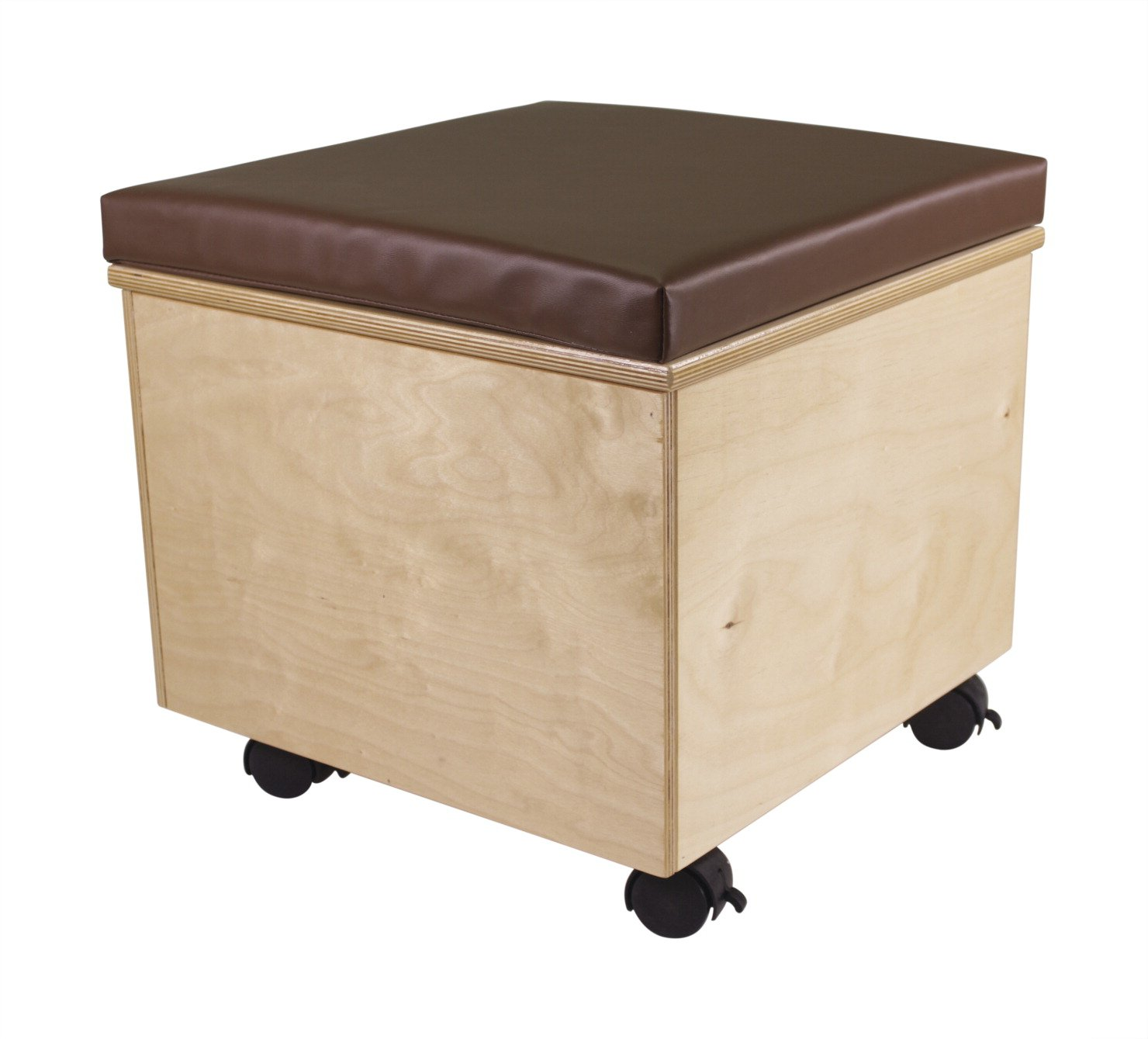 Childcraft Help On Wheels Mobile Teacher Stool, 18 x 18 x 18 Inches