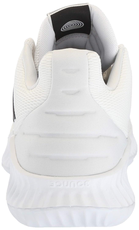 adidasAH2673 - Pro Bounce 2018 - Tige Basse Homme White/Black/Crystal White