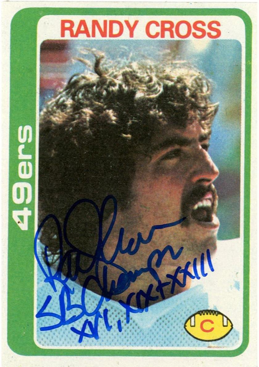 最安価格 NFL NFL San San Francisco Francisco 49ersランディクロスルーキーカード B01NBT07BT, 来夢堂:3c8c8ba7 --- pizzaovens4u.com