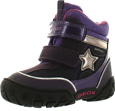 Geox Girls Gulp Waterproof Winter Fashion Snow Boots