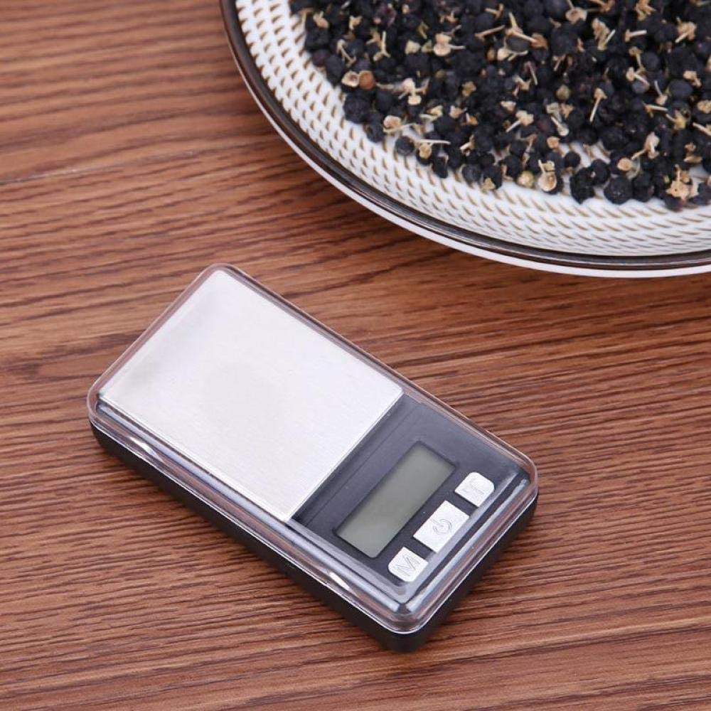 FEE-ZC Kitchen Home Multifunction Digital Pocket Scale Mini Portable Digital Electronic Pocket Scale Precision Weight Tool-500X0.01 500x0.01