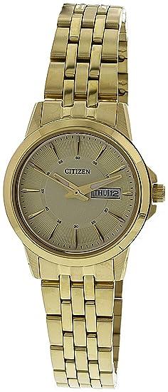 Citizen - Reloj de Pulsera analógico para Mujer Cuarzo Acero Inoxidable eq0603 - 59pe: Amazon.es: Relojes
