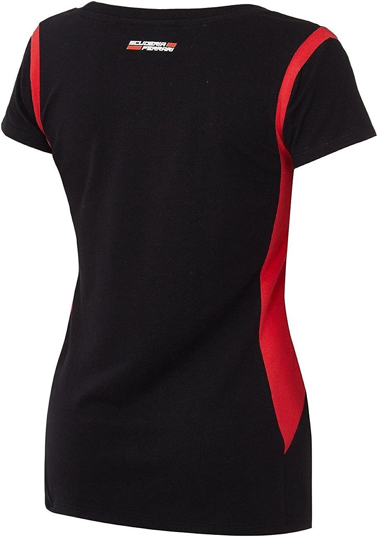 Ferrari - Camisa deportiva - para mujer negro S: Amazon.es: Ropa y accesorios