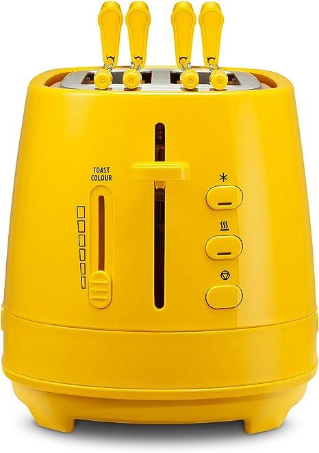 DE /'Longhi CTLA 2003.BK nuova linea attiva 900W 2 Slot Tostapane con funzione di sbrinamento