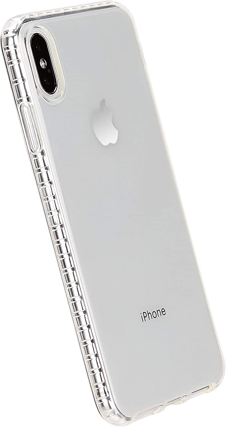 AmazonBasics iPhone Xs Max Clear Case - Crystal Mobile Phone Case (Protective & Anti Scratch)