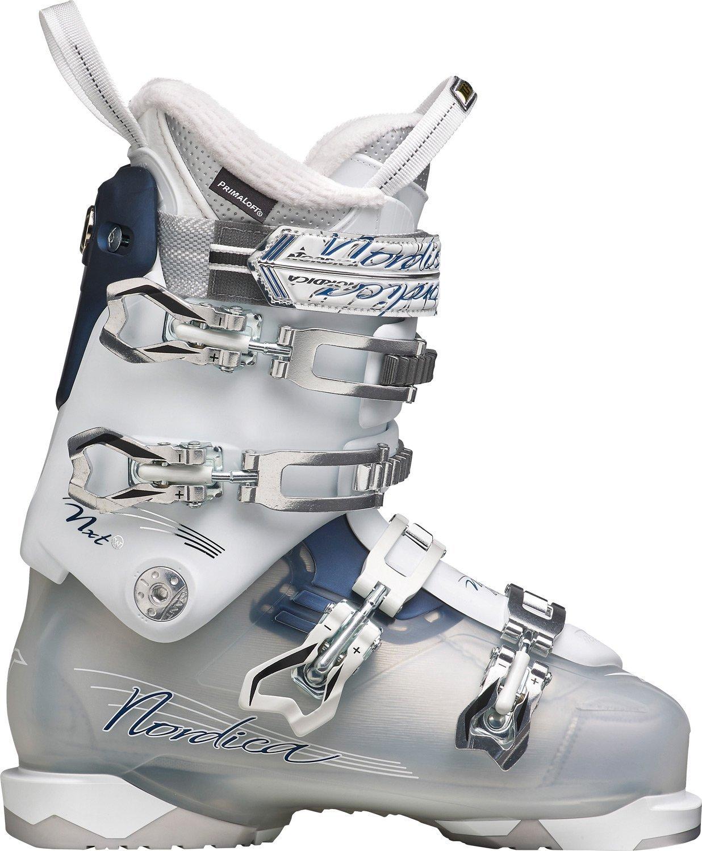 Nordica NXT N3W Women's Ski Boots Size 24.5 White