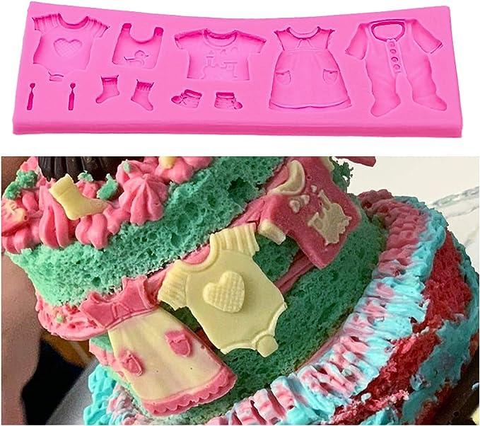 Baby Shower Silicone Fondant Cake Mould Mold Chocolate Baking Sugarcraft DecNWUS