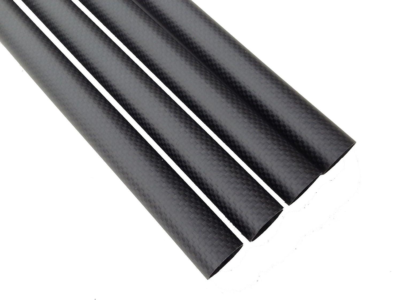 1 Piece Abester ID 6mm x OD 8mm x 1000mm Carbon Fiber Tube 3K Matt Surface Roll Wrapped