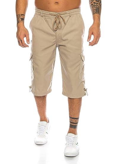 Fashion Herren Shorts Dehnbund Bermuda Kurze Hose Stretch ID230