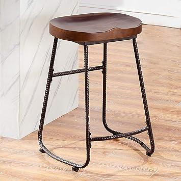 Amazon Com O K Furniture Contoured Saddle Seat 24 Inch Backless Bar
