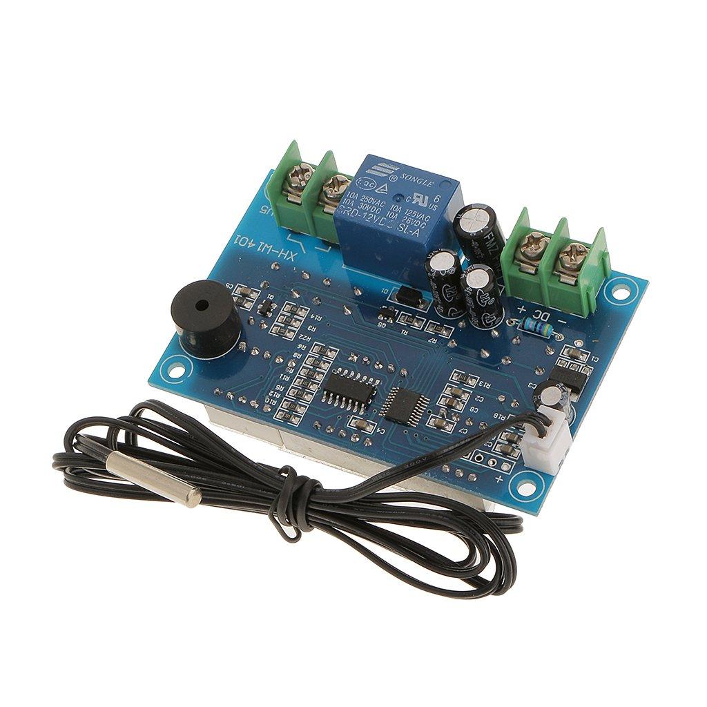 12v NTC Sensor de Temperatura M/ódulo Interruptor de Control Termopar Conexi/ón Para Arduino