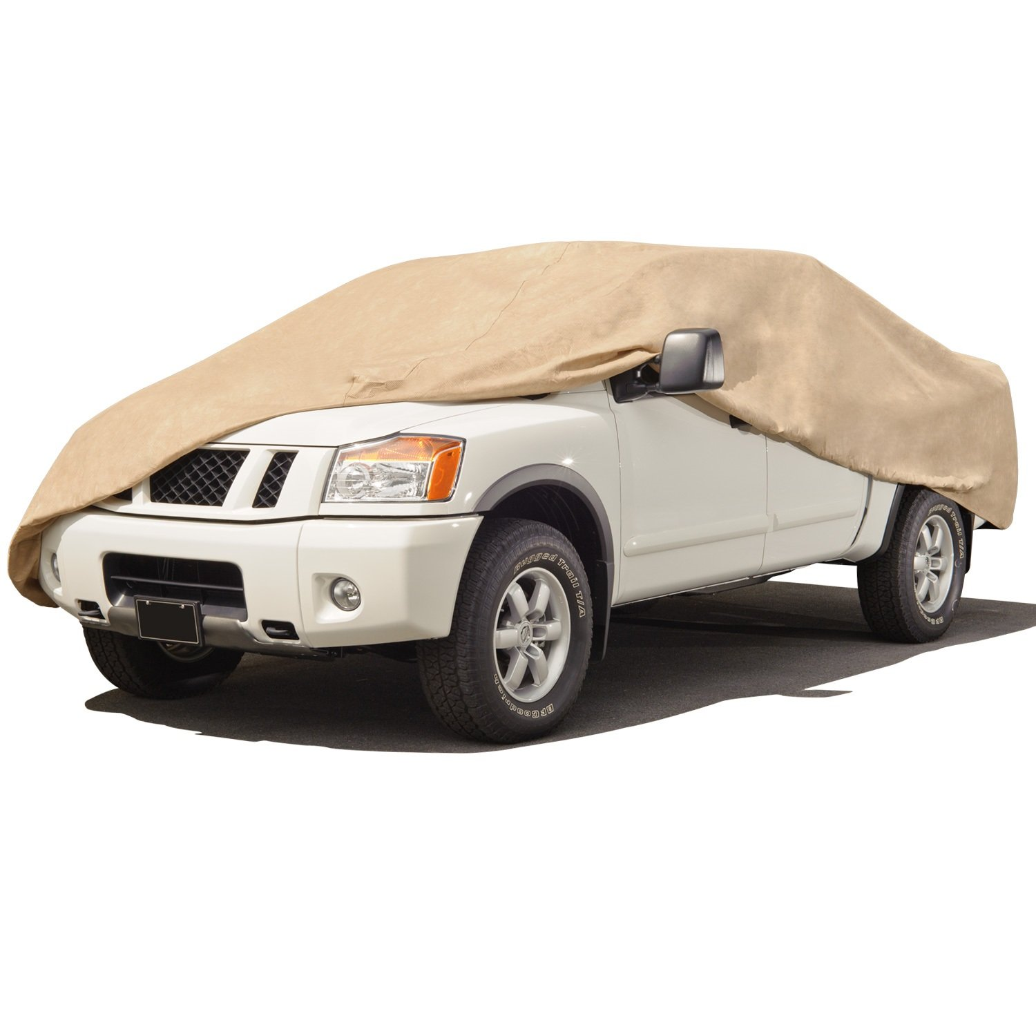 Truck Cover 90 inches Budge TA-3 Tan Size 3 Standard Cab Max Bed Length 7 6