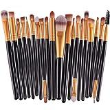 Makeup Brush Set MAANGE 20 Pieces Professional Eye Makeup Cosmetics Brush Set,Cosmetics Blending Brush Tools (black)