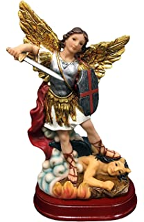 1c87a52abce Hampstead Collection 8-inch St. Michael The Archangel Statue Religious  Figurine