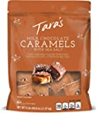Tara's Small Batch Milk Chocolate Covered Sea Salt Soft Caramels, Individually Wrapped, 3 Lbs (approx 60Piece), 48.6 Oz