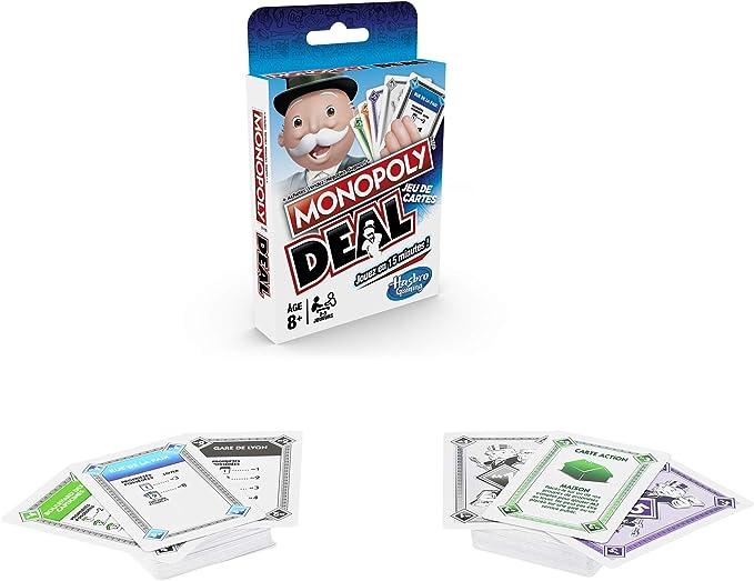 MONOPOLY - Deal - Travel Game, Versi�n en franc�s: Amazon.es: Juguetes y juegos