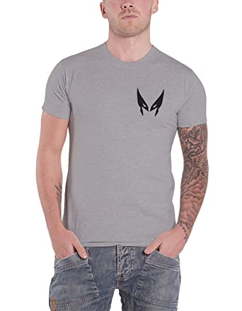 8300bf40 Amazon.com: Marvel Wolverine T Shirt Wolverine Slash Logan X-Men Official  Mens Grey: Clothing