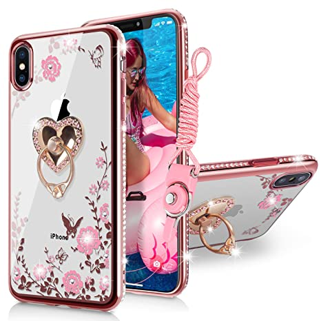 coque iphone xs max papillon
