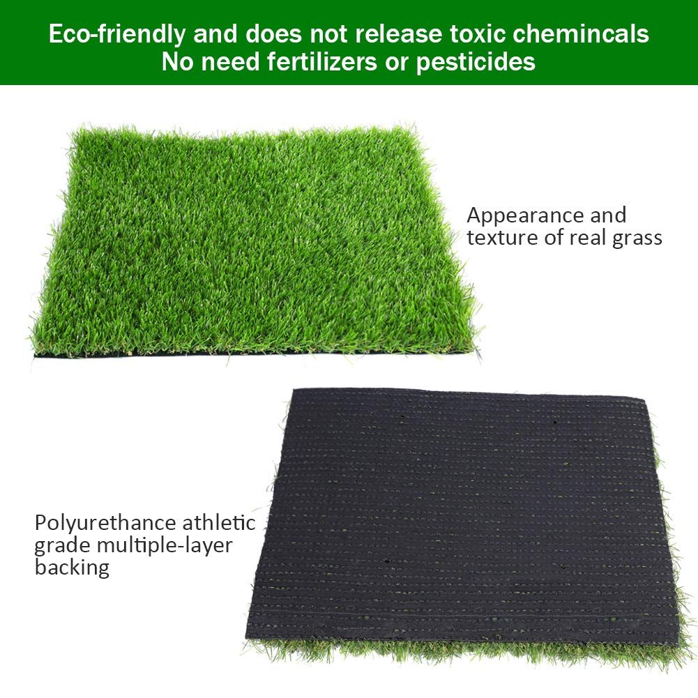 edf55079d6e6 Amazon.com  Artificial lawn Synthetic Turf Artficial Grass for Dog Pet Area  Indoor Outdoor Landscape