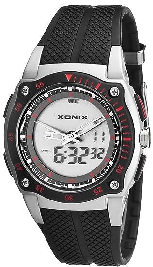 Deportivo Multifunción Reloj Xonix,Digital y Analógico,Resistente al agua 100M,Temporizador,