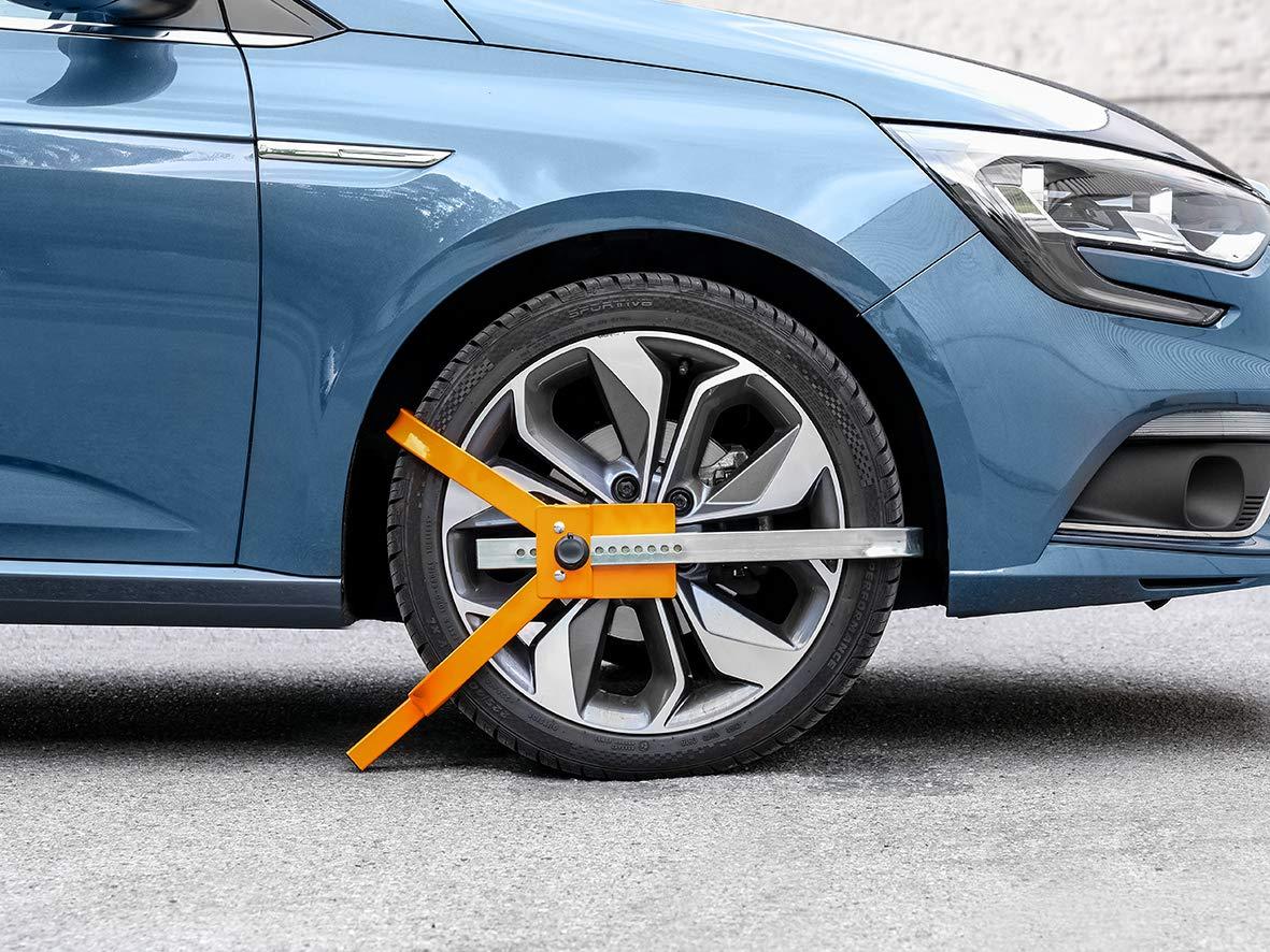 Wheels EUFAB 11804 Wheel Clamp High Power M 702 for 13-38.1 cm 15 Inch