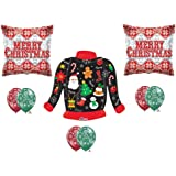 Amazon com medium ugly christmas sweater gift bags health amp personal