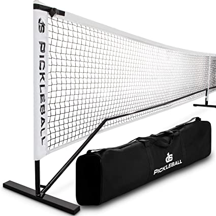Portable Pickleball Net With Tube Steel Frame Carry Bag By Day 1 Sports Professional Tournament Nets Durable Pickle Ball Equipment Set And Accessories Outdoor Or Indoor Play