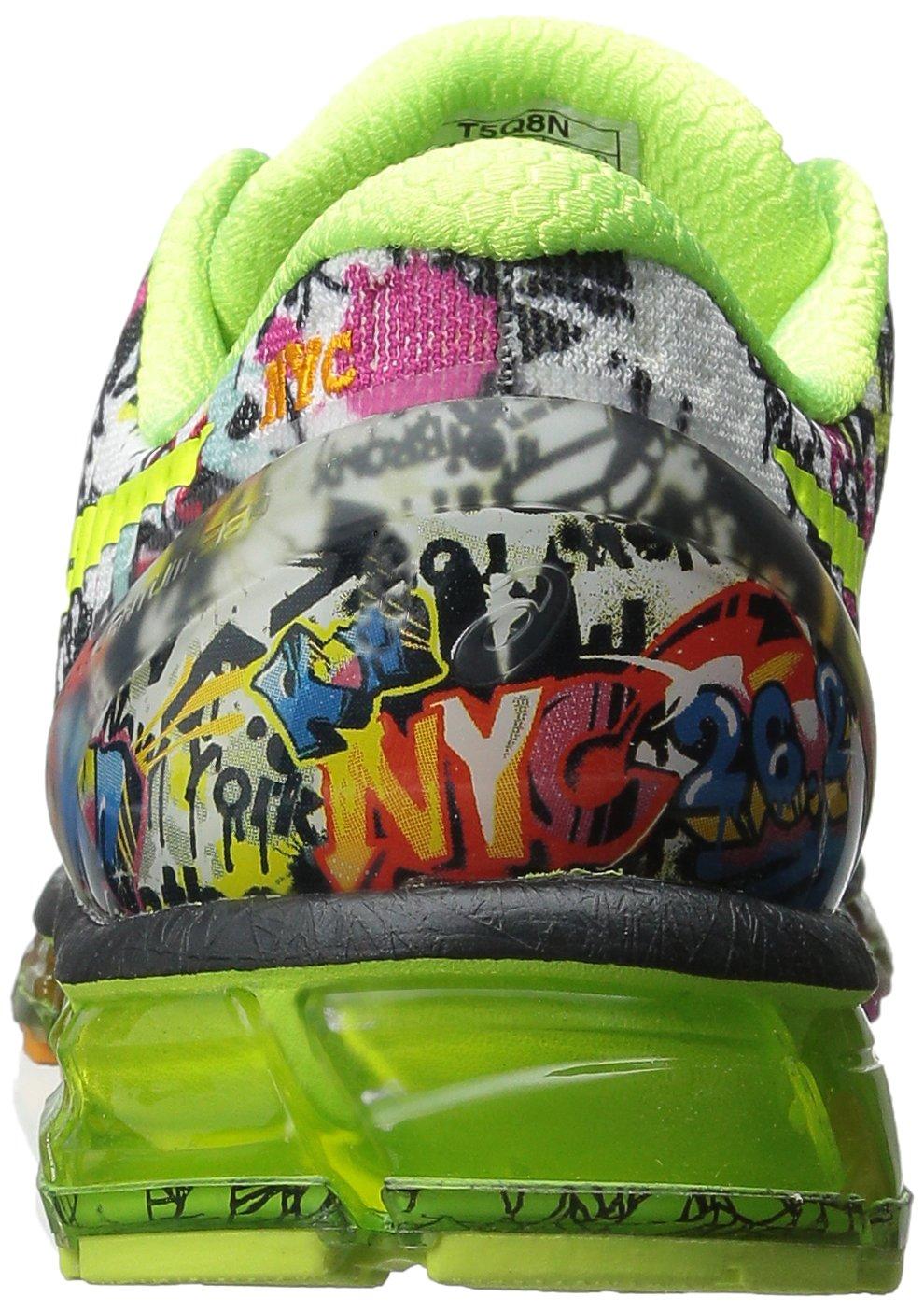 Limitovaná edice NYC Marathon běží boty představovat FluidFit lehký  prodyšné horní textilní a textilní syntetický film materiály 6d54a370533