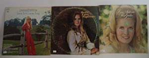 Lynn Anderson Lot of 3 Vinyl Record Albums Rose Garden and more