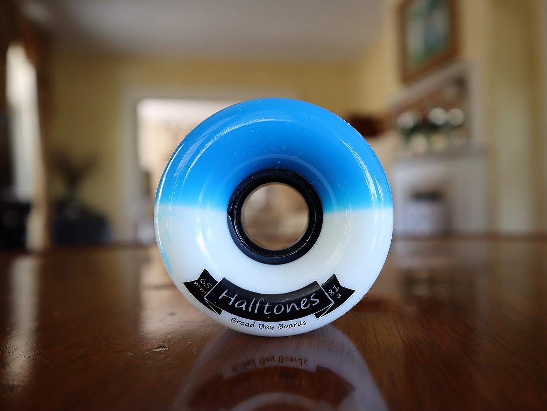 65mm 81a Broad Bay Halftones Longboard Wheels