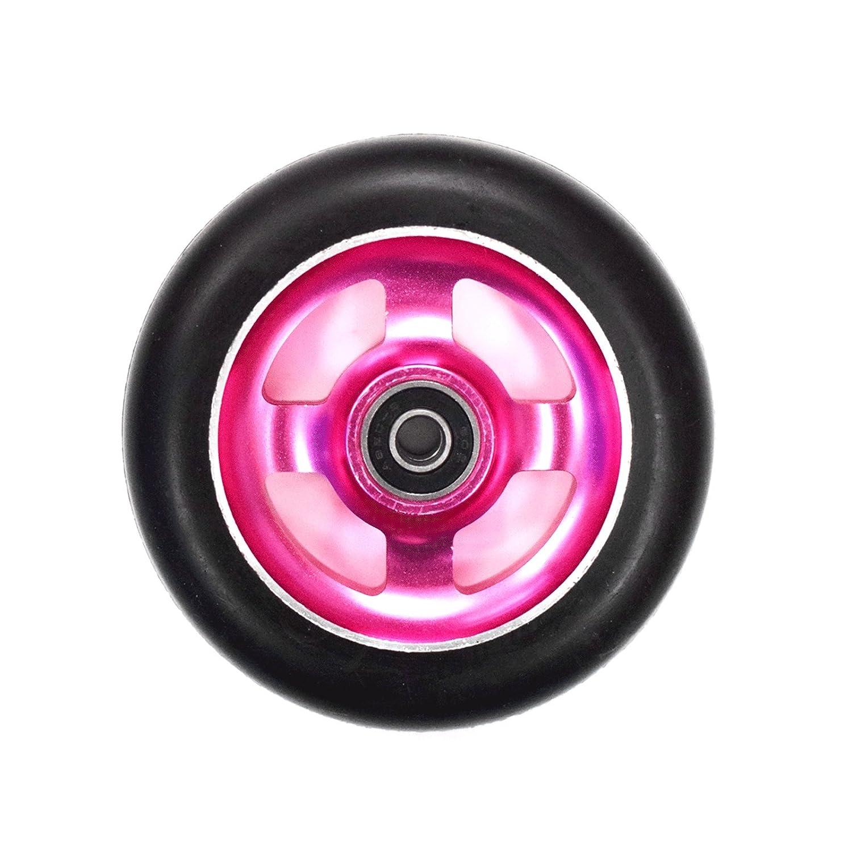 Ten Eighty 4 habló 110 mm patinete rueda - Rosa Core/negro ...