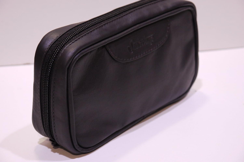 2 Pipe Tobacco Dark Brown (Mocca) Leather Pouch Smokin Ideas 3513-wilson