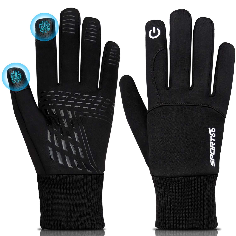 Waterproof Winter Gloves,Touch Screen Gloves,Thinsulate Gloves for Men Women